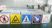Electrical hazard traffic signs symbols for Road Safety