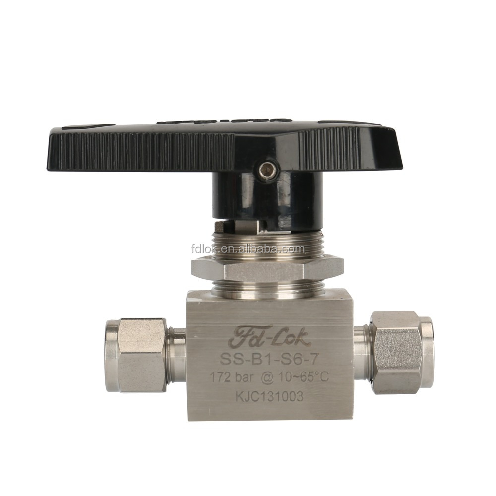 Hydraulic Stainless Steel 1-Piece 40G Series Ball Valve