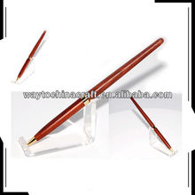 Eco-friendly wooden pens ballpoint famous brands