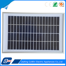 Custom Black Outdoor Solar Charger 5W Photovoltaic Solar Module Panel