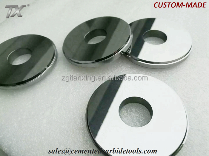 Customized hard alloy rolls for rolling mill