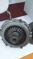 Steel friction clutch pressure plate with hino bus parts