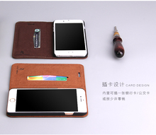 Latest wallet flip full cover real leather mobile phone case from China factory
