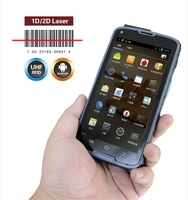 NFC receiver Android portable handy barcode scanner with cheap price 3G / WIFI / bluetooth / GPS
