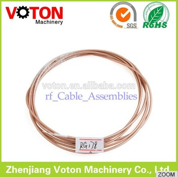 best quality factory MIL-C-17 PTFE Silver plated copper Coaxial Cable