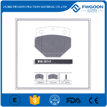 ISO certified Manufacturer of High Quality Brake Pad WVA29747 for Neoplan Bus