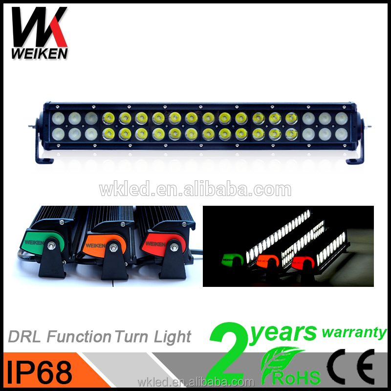 WEIKEN waterproof IP68 CE&RoHs 108w wholesale cheap led light bars 10w crees offroad led light bars 108w offroad led lightbar