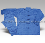 Custom Kungfu Uniforms/kungfu suit Blue color