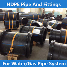 pe socket fusion fittings, saddle for pe pipe HDPE Flange Adaptors ,hdpe pipe fitting butt fusion reducer