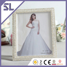 Baby 12 Month Photo Frame Cheap Picture Frames In Bulk Twinkling Rhinestone Photo Frame for Home Decoration Made in China