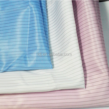 Factory direct sale terylene anti-static fabrics, petrochemical work clothes fabrics, electronic machinery work clothes