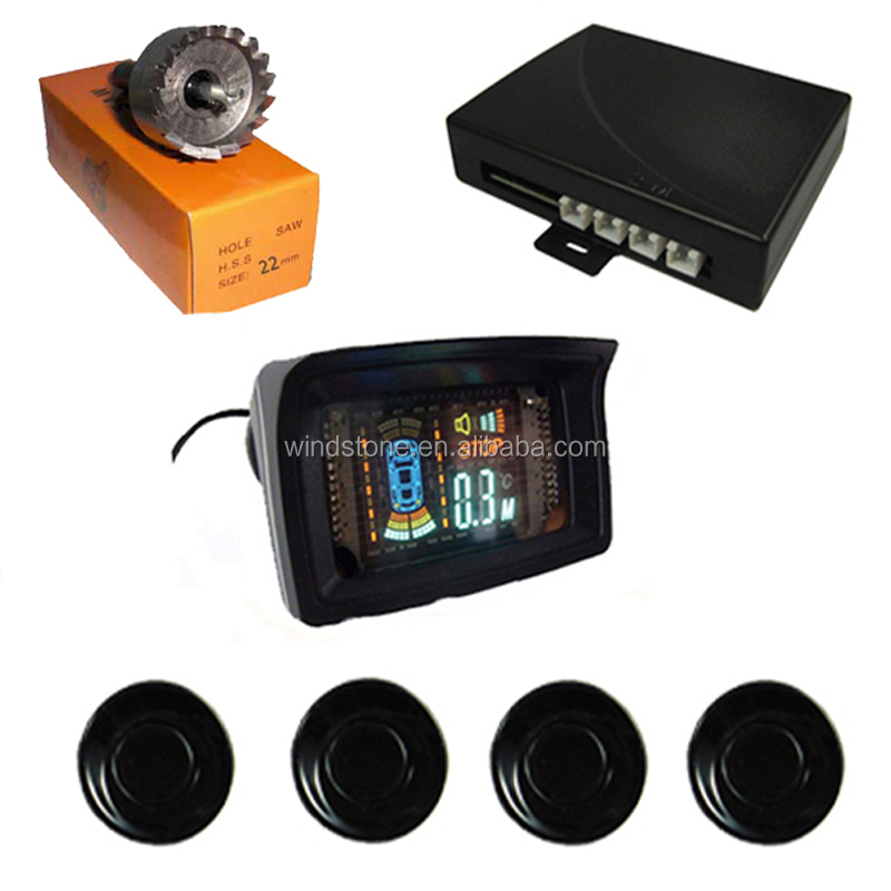 Wireless VFD Display Head Up Function Car Parking Sensor System
