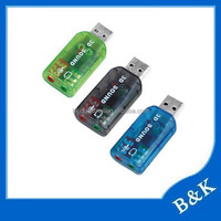 London market 3d sound card usb driver made in China
