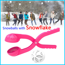 2016 PP Plastic Plastic Snow Ball Maker Winter Snowball Maker snowball manufacturer