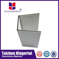 Alucoworld solar panels roof cladding materials aluminum composite panel