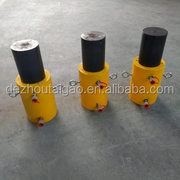 200mm stroke single action hand operated hydraulic cylinder for sale