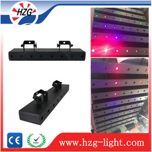 HZG 2017 Optional hot 300mw*8pcs Laser Beam Module Diode music activated big angle scanning laser show light