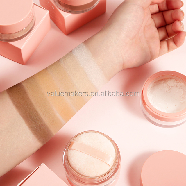 2020 NO Label Hot Selling Long Lasting Oil Control Matte Face Contour Mineral Loose Setting <strong>Powder</strong>