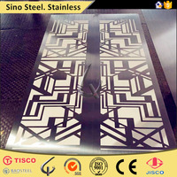 sus304 mirror finishing stainless steel sheet/coil color coating satin hairline finish