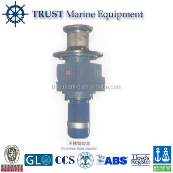 Marine Stainless Steel Boat Vertical Electric Mooring Capstan Winch
