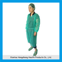 Medical Non Woven Disposable Hospital Clothing Disposable Hospital Gowns