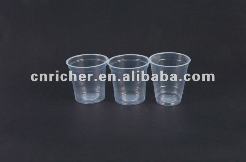 disposable safety/health round plastic beverage/drink cup/container/storage/packaging