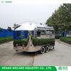 Factory Price Street Food Trailer High Quality Stainless Steel Material