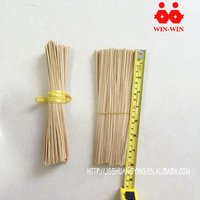Round raw incense material stick bamboo