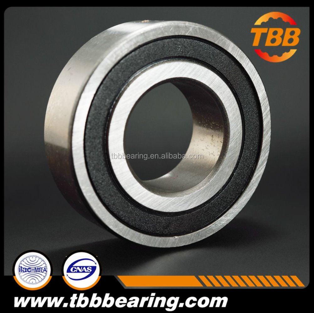 SS6003-2RS/ZZ double sealed stainless steel ball bearing for alimentary industry