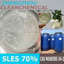 TOP Quality 70 SLES n70 Sodium lauryl ether sulphate