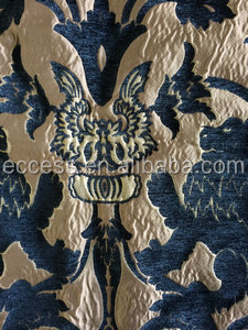 heavy weight chenille jacquard classical design fabric for curtain and sofa