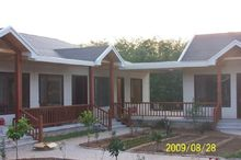 Latest Design High Quality And Low Price Prefabricated Wood Frame House