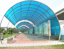 FRP fiberglass roof sheet for door and window rain cover