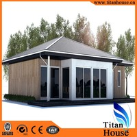 Australia Modern Design Light Gauge Steel Frame Prefabricated Residential House