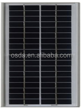 small size poly solar module 5w