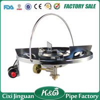 Auto ignition metal mini portable one burner outdoor camping gas stove single burner gas stoves Philippine use CS-003
