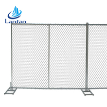 Hot sale cheap chain link temporary metal fence panels for events