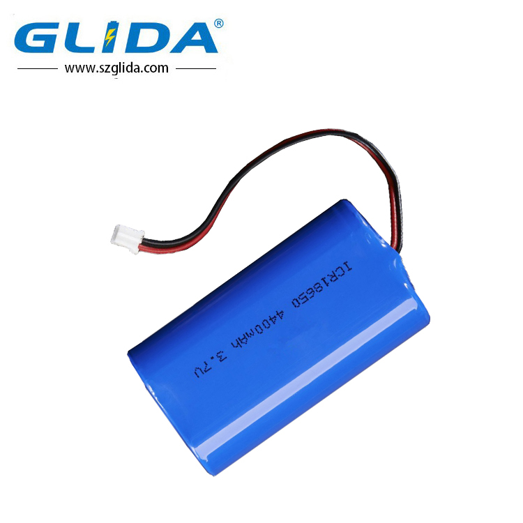 Rechargeable li-ion battery pack ICR 18650 3.7v 4.4ah