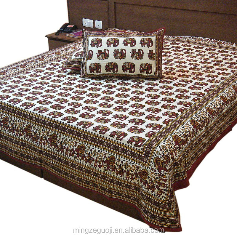 Rajasthan traditional culture theme based design bedding sets 100% cotton