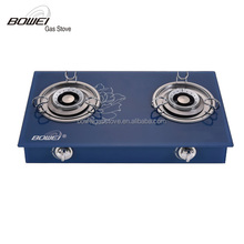 Ceramic cooktop portable double burner gas cooker stove