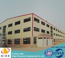 China cheap prefabricated warehouse/ shed/ factory high rise steel structure building