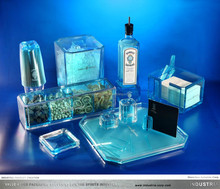 Bombay Sapphire Luxury Acrylic Cocktail Shaker Set/ Bar Set