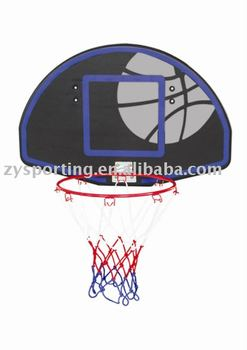 WALL MOUNTING BASKETBALL BACKBOARD SYSTEM