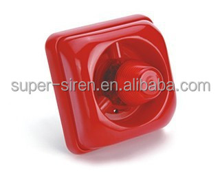 2015 new products 12/24V fire security alarm mini siren for fire