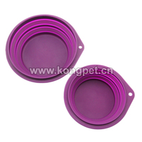 2016 Hot Portable Collapsible Silicone Pet Bowls Dog Bowls/dog feederFS020