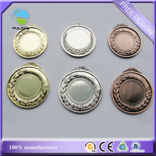 Cheaper Blank Frame Metal Zinc Alloy Gold Silver Copper Sets Assorts Sports Medals