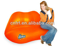 Inflatable Lip Shape Sofa Chair