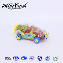 Racing Car toys types of mini fruit jelly pudding china candy toys factory