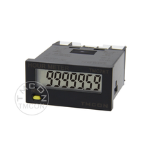 TMC7ET TMCON DIN 24*48 Cheap Industrial electronic LCD display digital timer Accumulating Time Counter Hour Meter