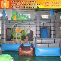 Commercial bounce house inflatable combo slide bounce house for sale